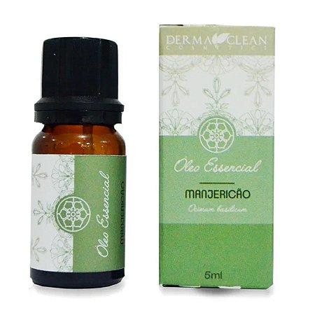 Óleo essencial de Manjericão 5ml - Derma Clean