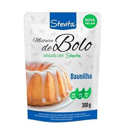 Mistura de Bolo de Baunilha 300g - Stevita