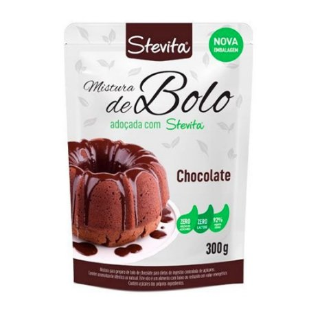 Mistura de Bolo de Chocolate 300g - Stevita