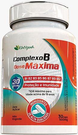 Complexo B Dose Maxima 30 Caps - Katiguá