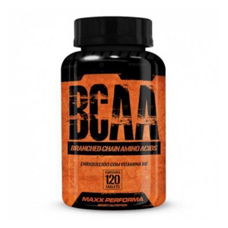 Bcaa Com Vitamina B6 - 120 Tabletes - Maxx Performa