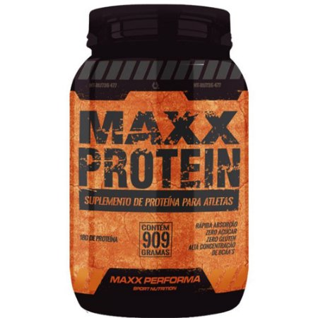 Maxx Protein 909g Chocolate - Maxx Performa