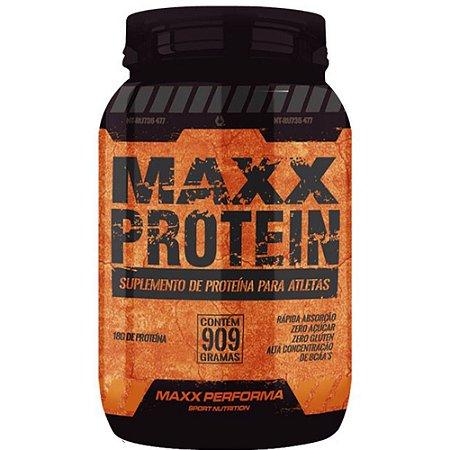 Maxx Protein 909g Baunilha - Maxx Performa