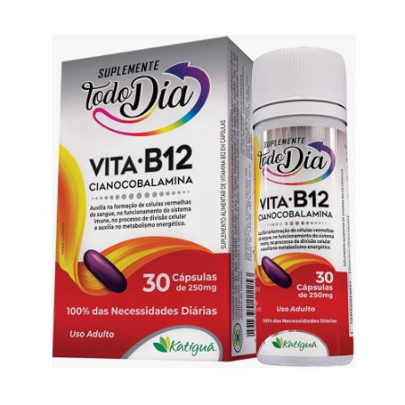 STD  Vita B12  30 caps 250mg