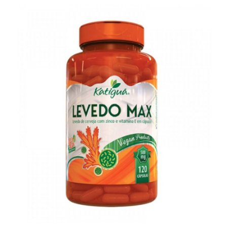 Levedo Max 500mg 120caps - Katigua