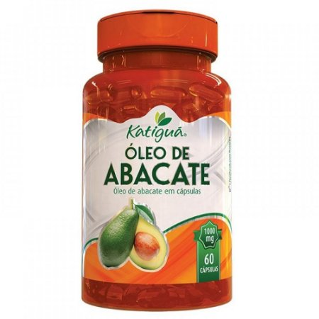 Óleo de Abacate 60 caps 1000mg