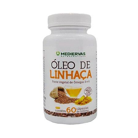 OLEO DE LINHACA - 60 CAPS 1 G