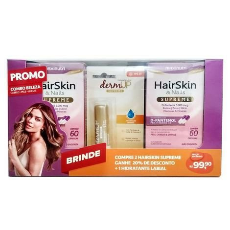 Hairskin Kit Promo + Lip Balm