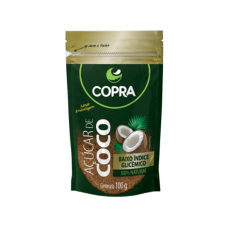 Açúcar de coco 100gr pouch