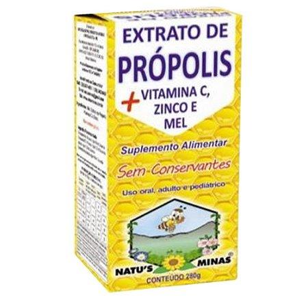 Extrato de Propolis + Zinco 280g