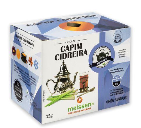 Chá de Capim Cidreira 15 saquinhos - Meissen