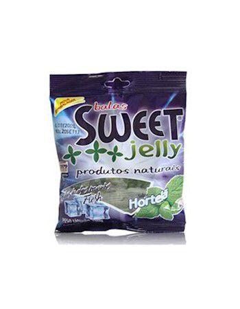 Balas Sweet Jelly 100 gramas - Hortelã