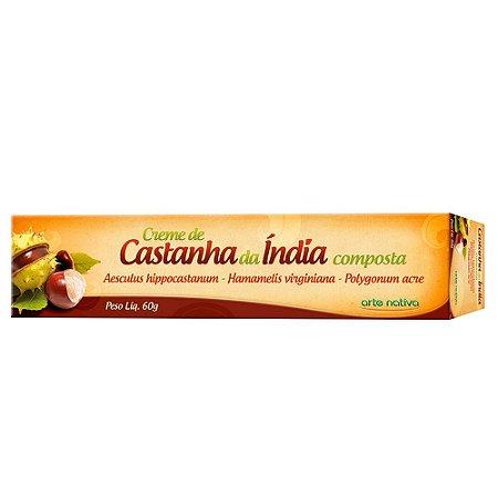 Creme Castanha da India 60g