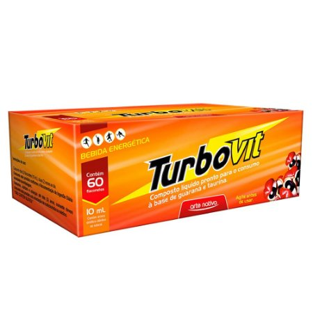 Turbovit 10ml com 60 Flaconetes