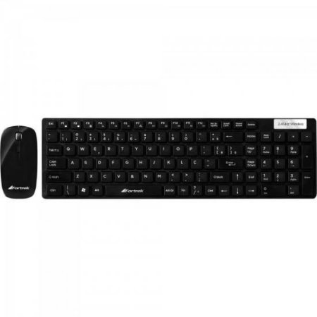 Combo Teclado + Mouse Wireless WCF-102 FORTREK