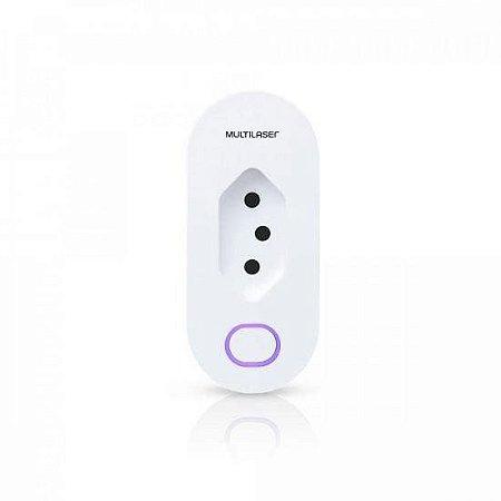 Plug de Tomada Inteligente Wi-Fi SE231 Branco MULTILASER