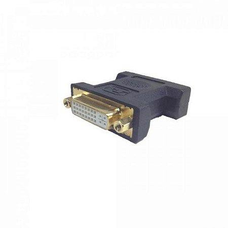 Adaptador DVI Fêmea 24+5 para VGA Macho ADAP0013 STORM