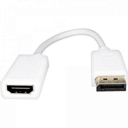 Adaptador Display Portátil Para HDMI 15cm ADAP0043 Branco STORM