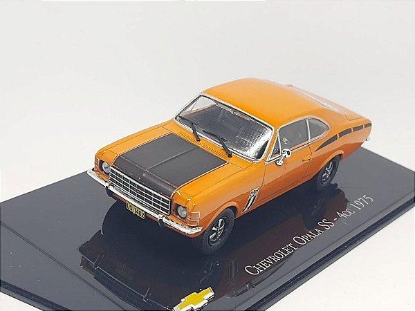Chevrolet Opala Ss 4cc 1975 1:43 Metal
