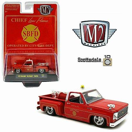 1976 Chevrolet Scottsdale Custom Chefe Dos Bombeiros