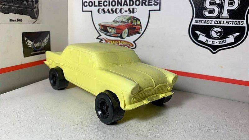 Simca - 4  portas - Amarelo - Joreal