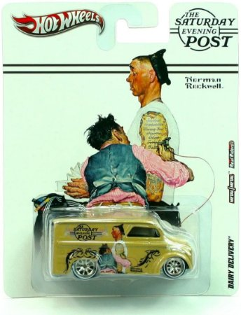 Dairy Delivery Norman Rockwell The Saturday Evening Post RealRiders A Heavy Metal - RARIDADE