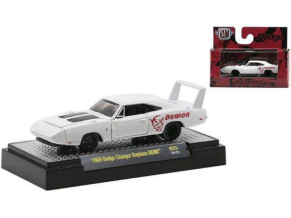 """Pré venda -1969 Dodge Charger Daytona HEMI Flat White """"Demon""""."""