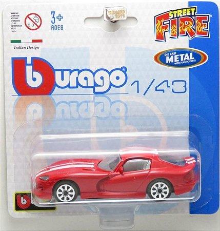 Dodge Viper Gts Coupe - Street Fire Blister - 1/43 - Burago