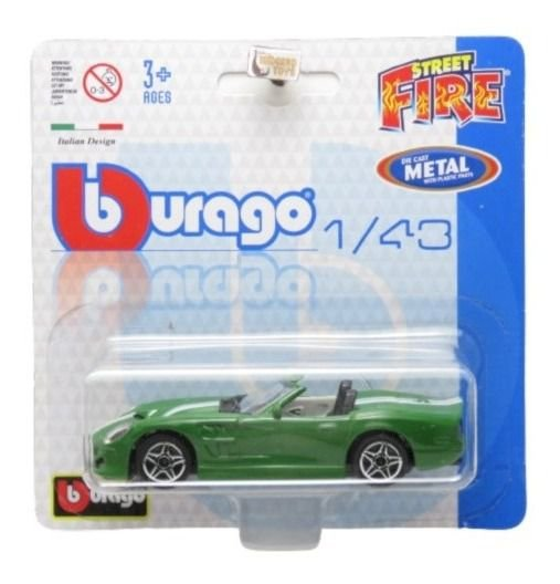 Shelby Series One - Street Fire Blister - 1/43 - Burago