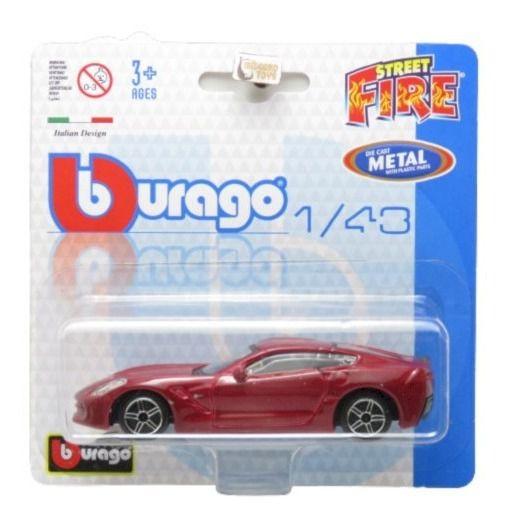 2014 Corvette Stingray - Street Fire Blister - 1/43 Burago