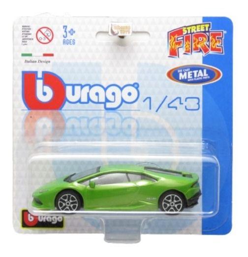 Lamborghini Huracan Lp 610-4 Street Fire Blister 1/43 Burago