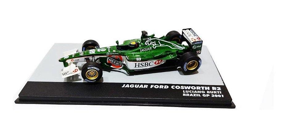 Jaguar Ford Cosworth R2 Luciano Burti Brasil 1/43