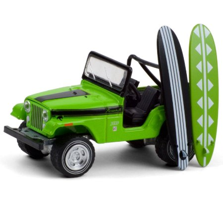 1971 Jeep CJ-5 Renegade with Surfboards - The Hobby Shop 10 - Greenlight