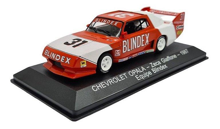 Stock Car Chevrolet Opala Zeca Giaffone 1987 - Blindex