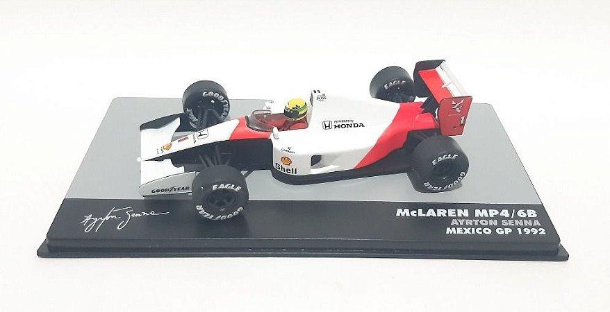 Mclaren Mp4/6b México 1992 Ayrton Senna F-1