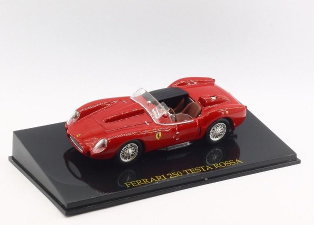 Ferrari 250 Testa Rossa Vermelha