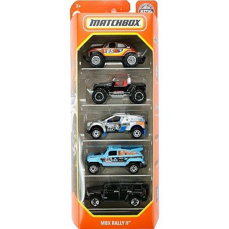 Pack 5 Matchbox - MBX Rally II - HCJ02