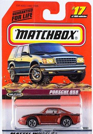 Porsche 959 Mint On Card 1999