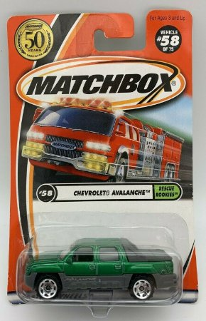 Chevrolet Avalanche Rescue Rookies #58 50th Anniversary