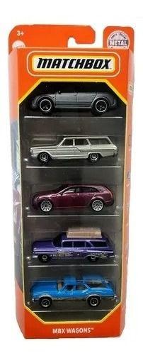 Pack 5 - Wagon - Matchbox