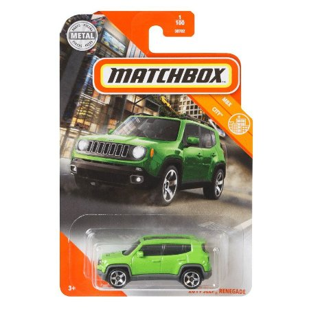Jeep Renegade Limited - 1/64