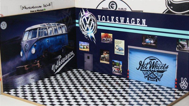 Diorama VW - MDF - 1/64