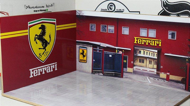 Diorama Ferrari - MDF - 1/64