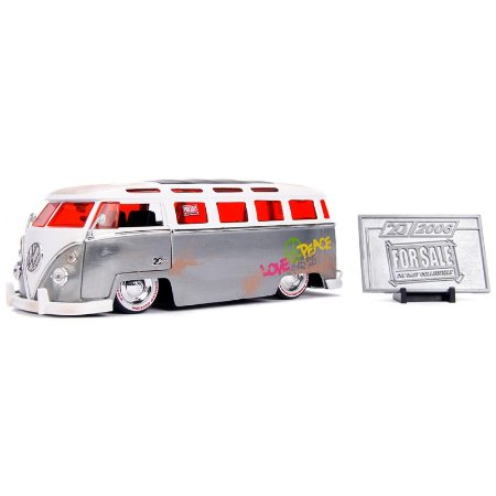 1:24 - 1962 Volkswagen Bus Kombi - 20th Anniversary - Jada Toys