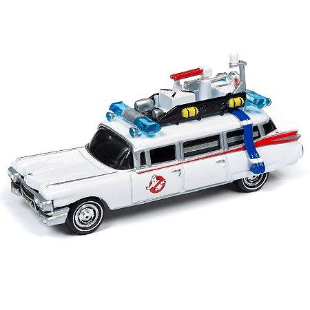 1:64 - 1A 1959 Cadillac Eldorado - Ghostbusters Original Movie - Silver Screen Machines - Johnny Lightning