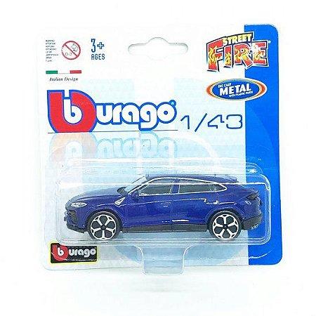 Lamborghini Urus - Street Fire - Azul - 1:43 - Burago