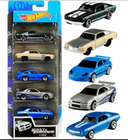 Pack Hot Wheels Fast And Furious - Velozes E Furiosos