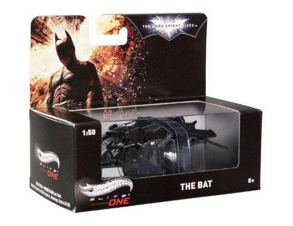 NAVE THE BAT 1/50 - Hot Wheels