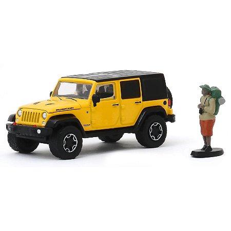2015 Jeep Wrangler Unlimited Rubicon Hard Rock c/ Mochileiro - The Hobby Shop 8 - Greenlight