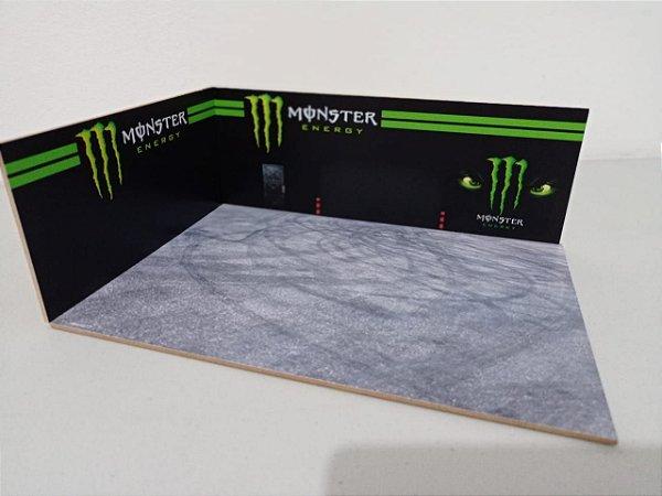 Diorama Monster Energy - 1/43